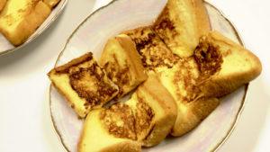読書会軽食……フレンチトースト