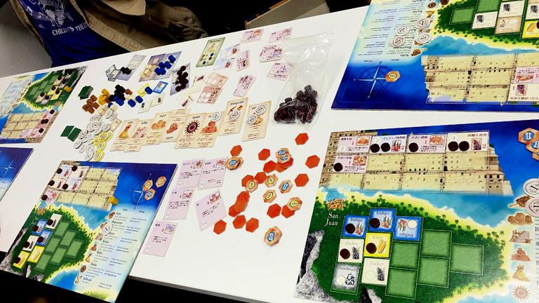 【ゲーム紹介】プエルトリコ……経営的な要素が満載!